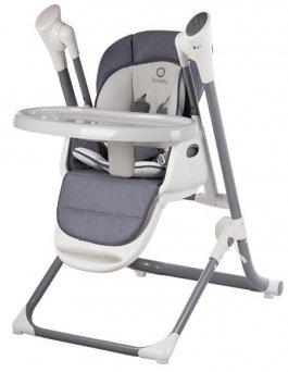 Krmící židlička Niles 2v1 - grey
